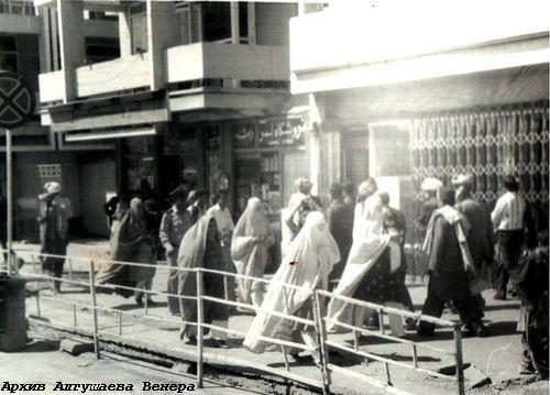 Район Ширинау - центр торговли в Кабуле